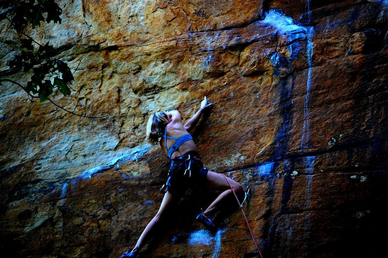 Rock Climbing Photo: Quinsana Plus