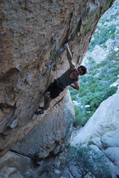 Rock Climbing Photo: Coach Jon hamming it up for the camera at the mid ...