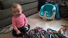 Rock Climbing Photo: Baby Smiles