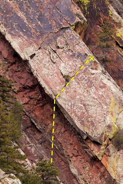 Rock Climbing Photo: The Gibbet.