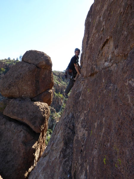 Sport Climbing at Queen Creek