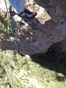 Rock Climbing Photo: Looking Down at Queen Creek Canyon