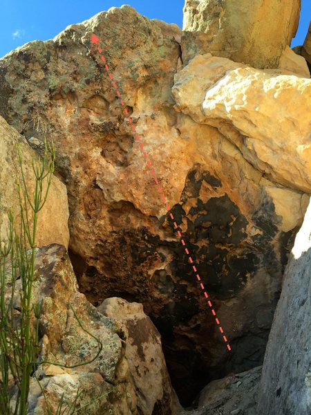 Rock Climbing Photo: Brandie's Handys