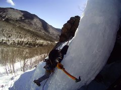 Rock Climbing Photo: Standard Route - Crawford Notch, NH