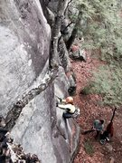 Rock Climbing Photo: Zig Zag - Swanzey, NH