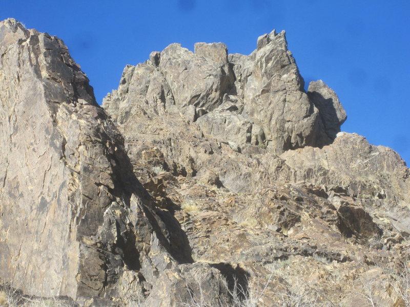 Rock Climbing Photo: Sawtooth Saddle Tower