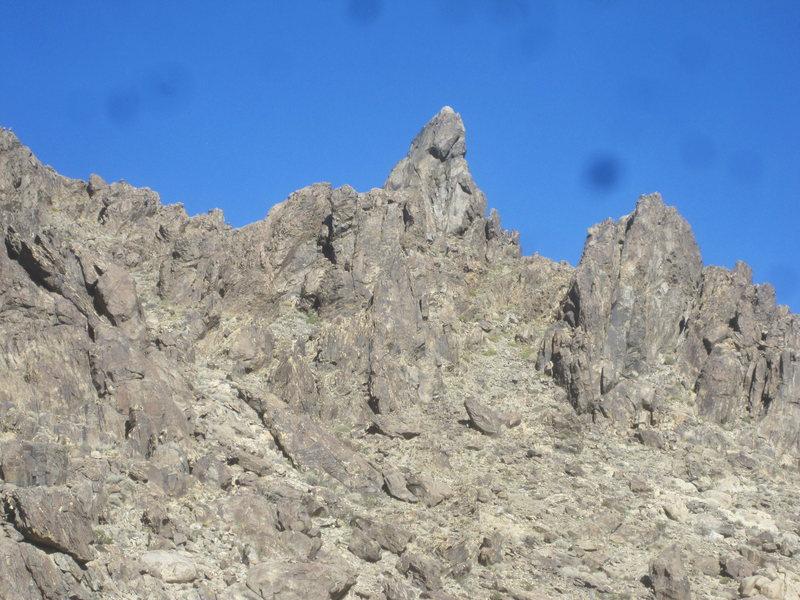 Rock Climbing Photo: Sawtooth Tit