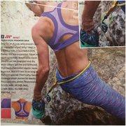 rock climbing in advertisements