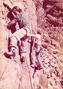 """Rock Climbing Photo: Jim """"Frodo"""" Lybarger on Demonstrator (le..."""
