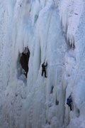 Rock Climbing Photo: Ice climbing in Ouray