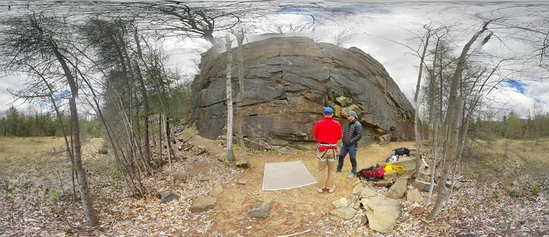 Rock Climbing Photo: 360 degree view of the area