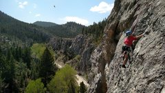 Rock Climbing Photo: Getting the kids out on The Sheepeaters, 5.8 at In...