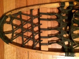 part of snocraft snowshoes