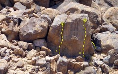 Rock Climbing Photo: The Tower of Power, Horsemen's Center  A. Power Pl...