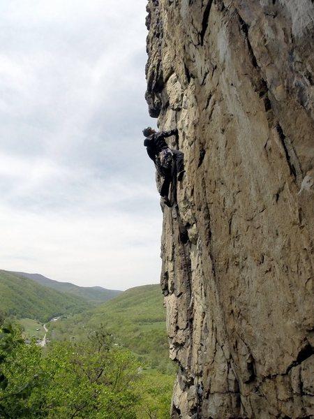 Rock Climbing Photo: First 20 Feet.