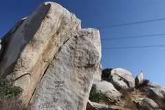 Rock Climbing Photo: The Lizard King Dihedral (5.10c), Juniper Flats