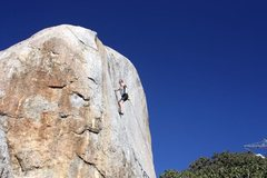 Rock Climbing Photo: The Lizard King Hand Crack (5.10), Juniper Flats