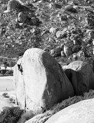 Rock Climbing Photo: Craig near the top of The Lizard King Hand Crack (...