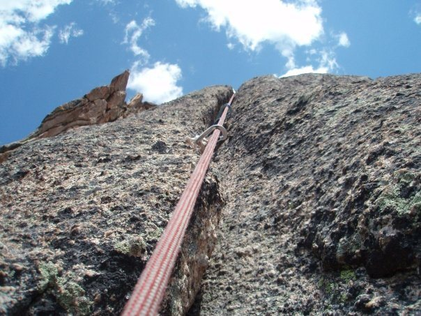 Rock Climbing Photo: Knobby Evans Wilderness Rock