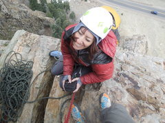 Rock Climbing Photo: Belay station 2