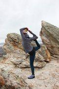 Rock Climbing Photo: Yoga after climbing, Rock Canyon Provo