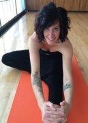 Rock Climbing Photo: Yoga always