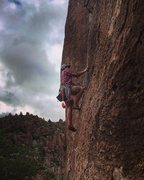 Rock Climbing Photo: Climbing at the Throne/Universe Wall, Upper Devil'...