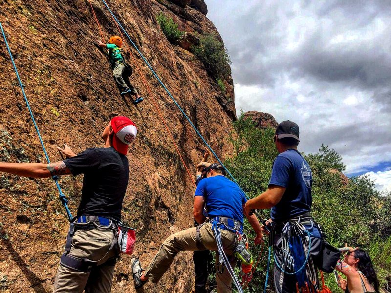 Rock Climbing Photo: The next generation of climbers