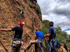 Rock Climbing Photo: The next generation of climbers