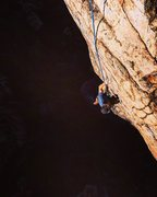 Rock Climbing Photo: The last pitch of Totem Pole