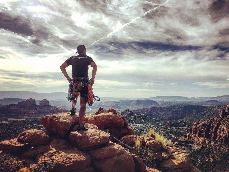 Rock Climbing Photo: Streaker Spire Summjt