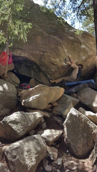 Rock Climbing Photo: The Hug - 1