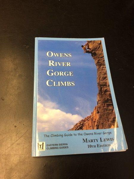 Rock Climbing Photo: ORG guidebook