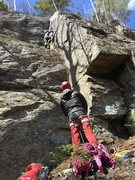 Rock Climbing Photo: Yet Another Picture of Dylan Oliver on Yet Another...