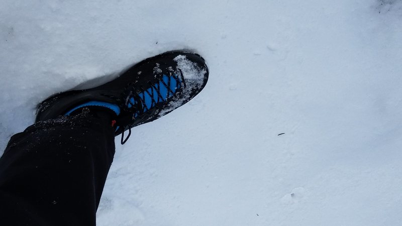 Acrux2 in the snow
