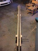 Rock Climbing Photo: 12 ft long crack machine, textured, crank adjutabl...