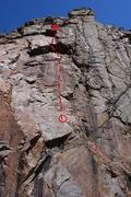 Rock Climbing Photo: Forbidden Fruit.