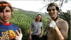 Rock Climbing Photo: enjoying the view
