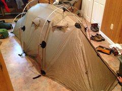 Rock Climbing Photo: Tent :