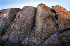 Rock Climbing Photo: Luke past the crux on Bloody Fingers  benjamin-mac...