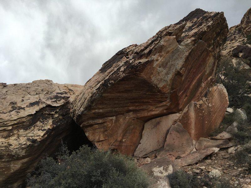 Name Plate Boulder