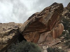 Rock Climbing Photo: Name Plate Boulder