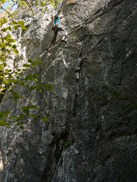 Rock Climbing Photo: Chump Monkey