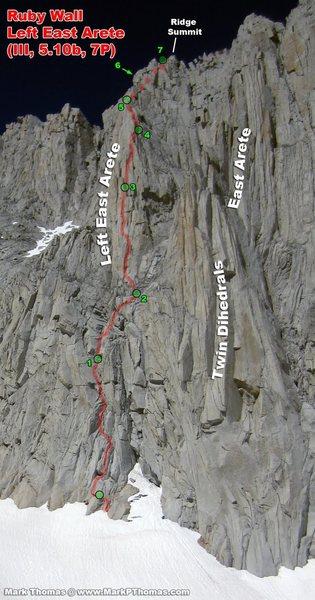 Rock Climbing Photo: note