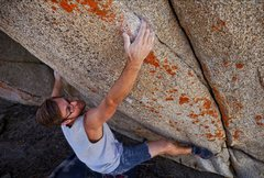 Rock Climbing Photo: Bolo opening moves. Photo by Christian Celestino.
