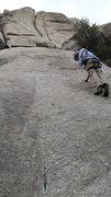 Rock Climbing Photo: both pitches