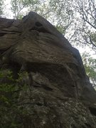 Rock Climbing Photo: Tate/Shield route.
