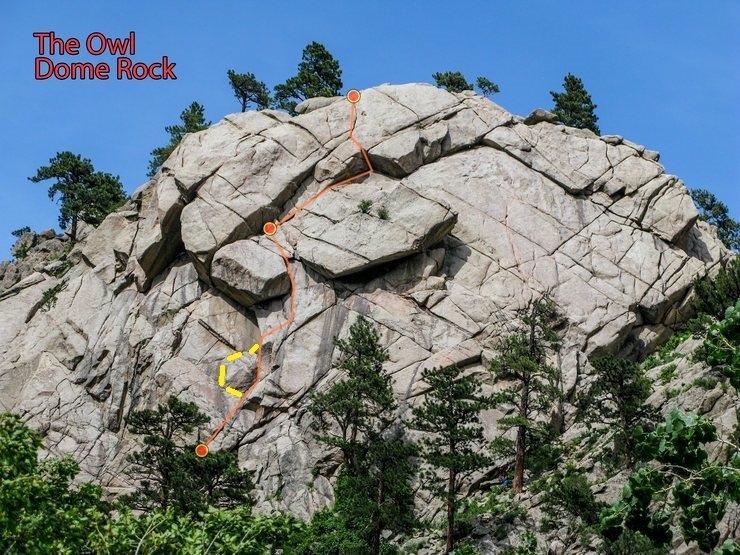 Better beta: showing key 5.7 handcrack on P1 to go further left around lower bulge on approach chickenhead reach.