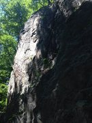 Rock Climbing Photo: Left Arete and Left face.