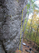Rock Climbing Photo: MIDDLE SECTION